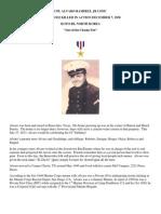 Tribute to Cpl. Alvaro Ramirez, Jr. USMC by Amando Gonzalez