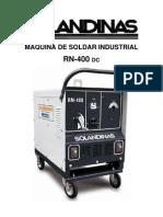 Manual de Maquina de Soldar Rn - 4oo
