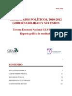 Tercera Encuesta Nacional GEA-IsA 2012 (Mayo)