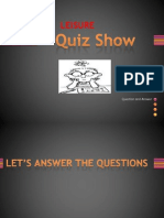 leisure quiz show.pptx