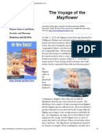 Mayflower History