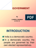 Our Government(Abdul Rahman's Project)