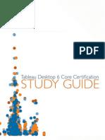 Tableau Certification Study Guide