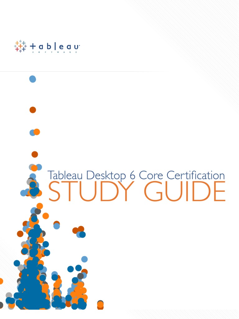 Tableau Certification Study Guide Profit Accounting Microsoft