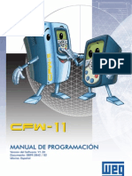 WEG Cfw 11 Manual de Programacion 0899.5842 1.3x Manual Espanol Copia