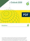 BP Energy Outlook 2030 PowerPoint