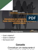 Administração de Restaurante - Ficha técnica