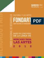 Fomento Mercado Artes 2012