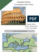 Antiguidade Ocidental Roma