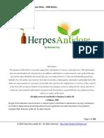 Herpes Antidote Unlocked