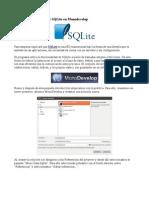 Conectar con una BD de SQLite en Monodevelop .odt