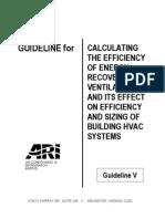 ARI Guideline v-2003