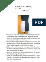 The Basic Straight Skirt