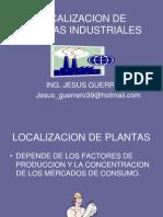 Localizacion de Plantas Industriales