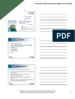 TB Webinar1 Handouts 20130612