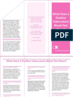 What Does a Positive Tuberculosis Blood Test Mean