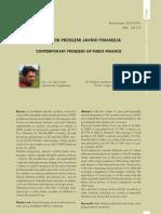 SR - Savremeni Problemi Javnih Finansija