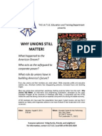 Why Unions Still Matter