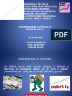 Legitimacion de Capitales en Venezuela
