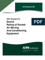 ARI Standard 260-2001