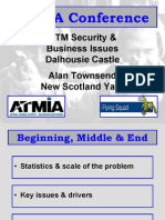 ATM Security and Bus Issues