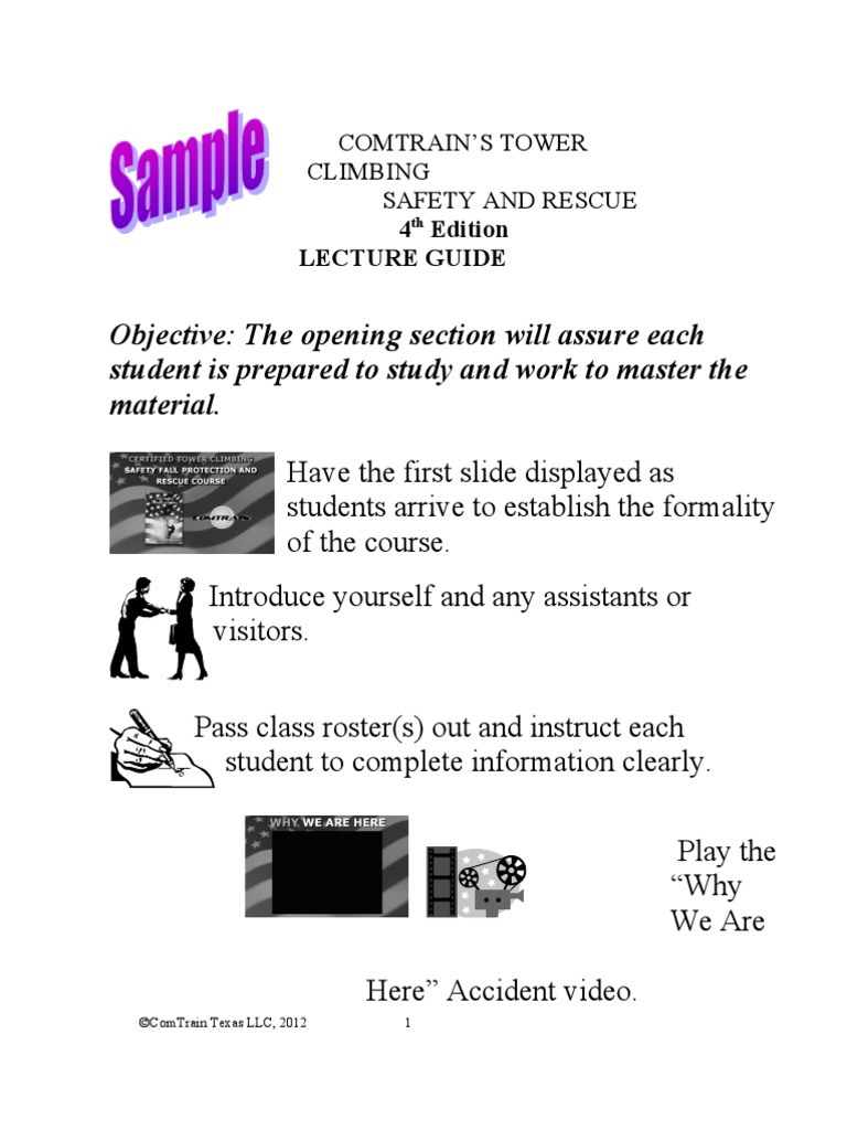 Lecture outline sample occupational safety and health lecture outline sample occupational safety and health administration safety fandeluxe Images