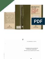 Mardones José M. Filosofía de las Ciencias Humanas y Sociales