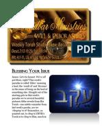 Ekev  Deuteronomy 7:12-11:25 BmidbarMinistries
