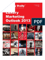 Luxury Marketing Outlook 2013
