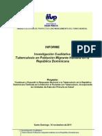 Informe Final Investigacion Migrante Rmc