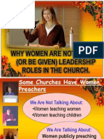 women in the Church