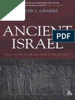 Ancient Israel, Grabbe