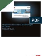 PCM600 v2.5 Product Guide