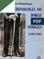 Pickenhayn _Cronología de Jorge Luis Borges (1899 - 1986)