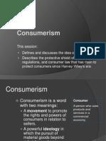 Consumerism Modified