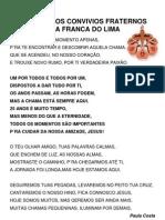 Hino 25 Anos Convivios Fraternos Vila Franca Do Lima