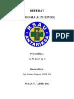 Referat Demensia Acil