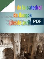 Catedral Burgos Inedito Interior