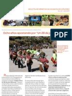 Boletín Ayuda en Acción Perú. Julio 2013