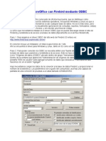 Conectar LibreOffice Con Firebird Mediante ODBC