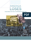 Klinger, Scott & Sarah Anderson Et Al. 2011 'America Loses-- Corporations That Take 'Tax Holiday' Slash Jobs' Institute for Policy Studies (Oct. 3, 23 Pp.)