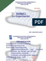 CLASE -La Organizacion