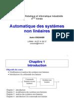 Automatique des systèmes