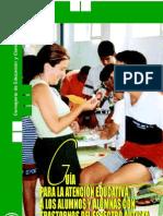 GUIA Para Alumnos y Profesores Del Autismo
