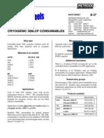 Metrode Cryogenic 308lcf B-37