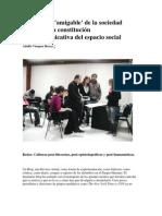Del Modelo Amigable de La Sociedad Literaria a La Vigilancia Rocca