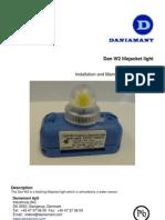 Water Activated Lifejacket Light Leaflet