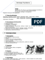 Sémio Méd - Sémiologie Thyroidienne