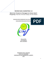 Review Buku Marketing 3.0