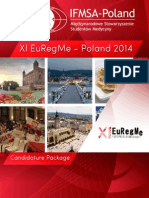 EuRegMe 2014 in Poland, Candidature Package